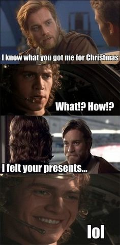 There are no Secret Santas in the Jedi Council. I SHOULD NOT BE LAUGHING SO HARD ABOUT THIS, AND YET I AM.