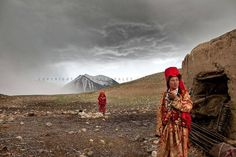 See a photo of Kyrgyz nomads in Afghanistan by Matthieu Paley, from National Geographic. Mongolia, Inca, Winter Camping, Two Daughters, Silk Road, Documentary Photography, People Of The World, National Geographic Photos, Central Asia