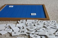Montessori Hundred Board and Number Bond Math Games