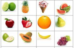 Excelente material para poder aprender el nombre de las frutas en primer grado de primaria, esperando que les sea de