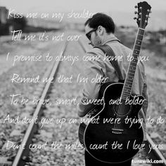 "-- #LyricArt for ""miles"" by Christina Perri"