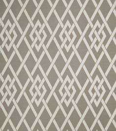 Upholstery Fabric-Eaton Square Sherry   Pewter Lattice, , hi-res joanne fabric          18 $ yd