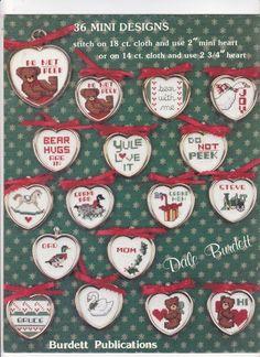 Country Minis Dale Burdett Cross Stitch Design Booklet Miniatures