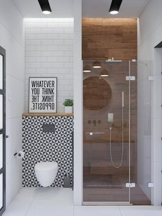 Inspiration for bathroom furniture & accessories, modern vanity units, illuminated mirrors, bathroom wall sconces & pendants, plus decor colours and styles. furniture 51 Modern Bathroom Design Ideas Plus Tips On How To Accessorize Yours Modern Bathroom Design, Simple Bathroom, Bathroom Interior Design, Bath Design, Small Bathroom Ideas, Modern Bathrooms, Small Bathroom With Bath, Toilet And Bathroom Design, Small Bathroom Inspiration