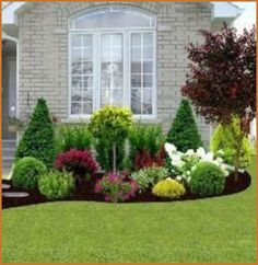 Front Yard Garden Design, Small Front Yard Landscaping, Small Patio, Front Yard Landscape Design, Small Yards, Low Maintenance Landscaping, Backyard Landscaping, Country Landscaping, Landscaping Borders