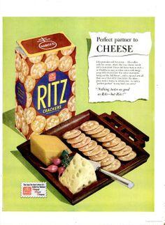 LIFE - 1950 Ritz crackers