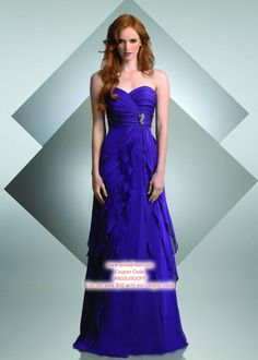 A-line Sweetheart Floor-length Bridesmaid Dress #USAFF262