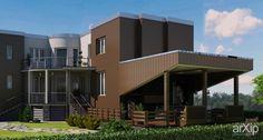 индивидуальный проект: архитектура, 1 эт | 3м, жилье, модернизм, 200 - 300 м2, фасад - дерево, здание, строение #architecture #1fl_3m #housing #modernism #200_300m2 #facade_wood #highrisebuilding #structure arXip.com