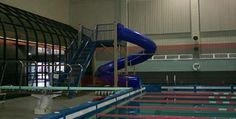 Twenty-five meter, six-lane pools are located at the Magrath Sports Complex and at Monti Fitness Center. The Magrath pool has an additional diving platform at ten and twenty-five meters.