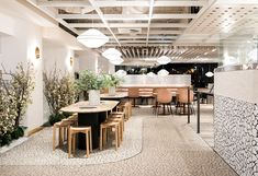 Cornerstone - Pony Design Co Places To Eat, Eating Places, Work Images, Retail Space, Commercial Interiors, Lighting Design, Design Inspiration, Restaurant, Table Decorations
