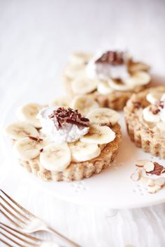 no bake banoffee tart//