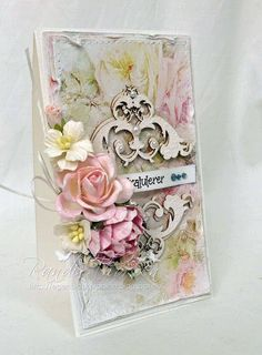 RANDI'S LILLE BLOGG: DT Wild Orchid Crafts - Shabby chic