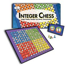 """The coordinate plane is the """"playground"""" of algebra, the arena where algebraic concepts are displayed graphically. Integer Chess helps grades 3-7 students understand and develop proficiency in skills"""
