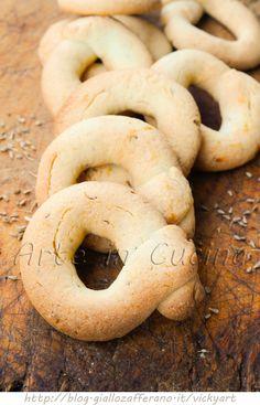 Ciambelline all'anice biscotti facili e veloci vickyart arte in cucina