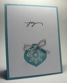 joy card stampin Up