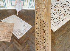 Tapis de bois ou vinyle par Arzu Firuz
