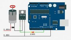 High-power control: Arduino