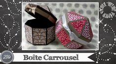 """Vidéo-Tuto """"Boite Carrousel"""" par Coul'Heure Papier"""