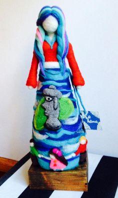Wet Felting, Needle Felting, Waldorf Dolls, Felt Dolls, Different Styles, Wool Felt, Fairy, Children, Crafts
