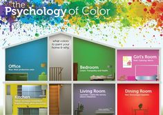 Best suggestions for coloring your house based on Psychology. :)