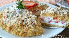 New York cheesecake al limone Good Food, Yummy Food, Summer Cakes, Food Fantasy, Italian Desserts, Sweet Tarts, Strawberry Recipes, Vegan Baking, Sweet Bread