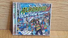 ALBOROSIE. ESCAPE FROM BABYLON. CD / GREENSLEVES RECORDS / 16 TEMAS / CALIDAD LUJO.