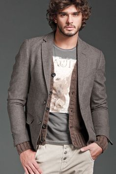 Marlon Teixeira is Ready for a Cool Gaudì Fall/Winter 2012