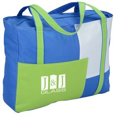 Block out the competition with this custom tote!