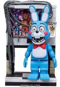 McFarlane Five Nights at Freddy's *Bonnie *Left Air Vent Micro Figure Building #McFarlane