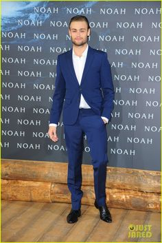 Douglas Booth Bring 'Noah' to Berlin, Premiere Film