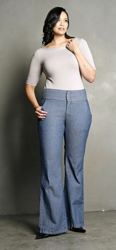 Best trouser jeans for plus size