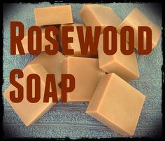Rosewood natural soap made with Rosewood essential oil. Has a great woodsy masculine fragrance