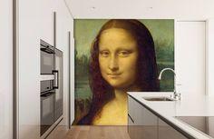 Mona Lisa op fotobehang