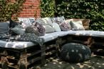 Klasse Europaletten Sitzecke für den Garten