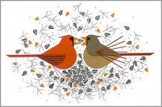 Charley Harper, limited edition giclee canvas and paper ...