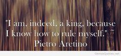 Pietro Aretino quote hd
