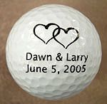 golfowa dekoracja/ how awesome would this be for the guys when they go golfing before the wedding???