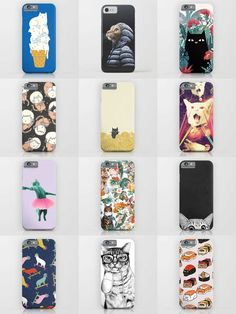 Society6 Phone Cases - Society6 is home to hundreds of thousands of artists from around the globe, uploading and selling their original works as 30+ premium consumer goods from Art Prints to Throw Blankets. They create, we produce and fulfill, and every purchase pays an artist.