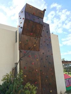 DIY climbing wall? Yes, it can be done! Here's how.