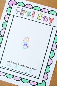Monthly Self Portrait Journal for Preschool and Kindergarten with seasonal and nonseasonal versions and pages for first day, last day, and birthday drawings.