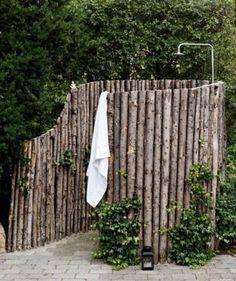 Outdoor Bathrooms 547117054710902301 - Douche de jardin – garden shower Source by harmoninie