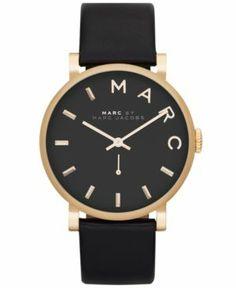 { black marc jacobs watch }