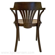 Classic bentwood ARM CHAIRS for restaurants, bars, taverns, clubs. All wood and upholstered styles available. Chair is steel reinforced for commercial use. Wood Restaurant Chairs, Woods Restaurant, Bistro Restaurant, Pub Chairs, Bentwood Chairs, Armchair, Art Deco, York, Rear View
