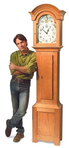 Captivating Country Style Grandfather Clock By Tim Johnson For Many Of Us, A Grandfather  Clock Is The Ultimate Project. Traditional High Style Clocks Often Involve  Such ...