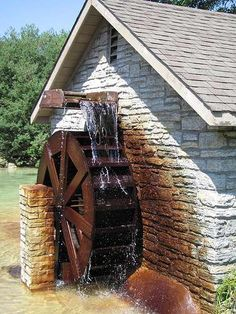 Chicken coup...if it were on the water....it would totally have a water wheel!