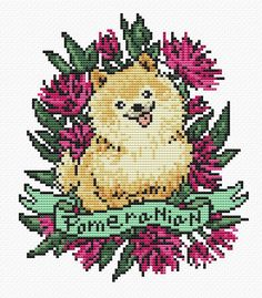 Fabric: 14 count Stitches: 86 x 101 Size: 6.14 x 7.21 inches or 15.60 x 18.32 cm -This listing is for a PDF file of the pattern, not the finished product. You will need Adobe reader to open the files, which you can get free from get.adobe.com/reader. -This cross-stitch pattern