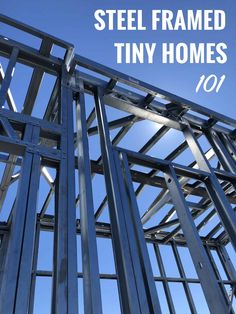 Introduction to Steel Framed Tiny Homes Tiny House On Wheels Framed Homes Introduction steel Tiny Home Building Tips, Building A Tiny House, Tiny House Plans, Tiny House On Wheels, Tiny House Family, Tiny House Living, Prefab Homes, Tiny Homes, Steel Framing