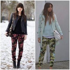 Como usar: calças estampadas http://www.blogdarafa.com.br/como-usar/como-usar-calcas-estampadas#