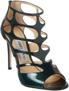 693af24b25c2 Jimmy Choo Ren 100 Patent Sandal Jimmy Choo Shoes
