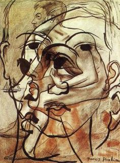 Dada Movement: André Breton, René Hilsum, Louis Aragon & Paul Eluard - by Man Ray Marcel Duchamp, Man Ray, Action Painting, Painting & Drawing, Dada Artists, Dada Movement, Modern Art, Contemporary Art, Art Postal